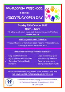 Messy Play Open Day